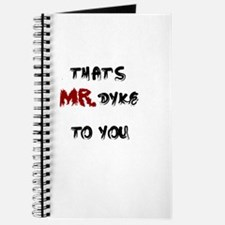 Mr. Dyke Journal