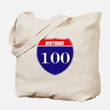 100th Birthday! Tote Bag