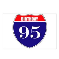 95th Birthday! Postcards (Package of 8)