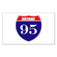 95th Birthday! Decal