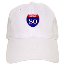 80th Birthday! Baseball Cap