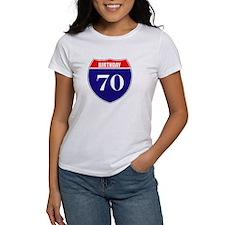 70th Birthday! Tee