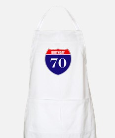 70th Birthday! Apron
