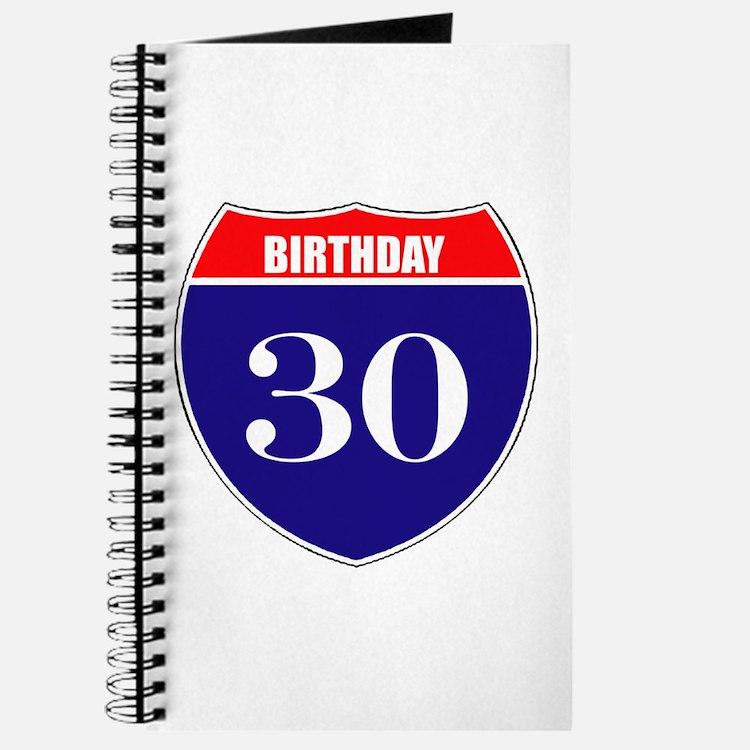 30th Birthday! Journal