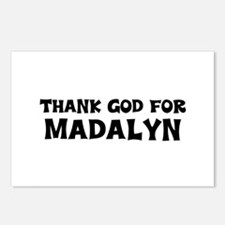 Thank God For Madalyn Postcards (Package of 8)