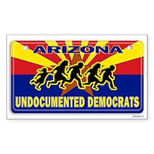 Undocumented Democrats Decal