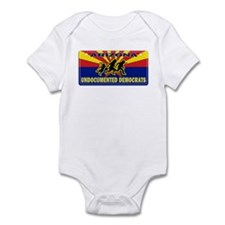 Undocumented Democrats Infant Bodysuit