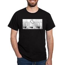 Flip Cup Merchandise Black T-Shirt