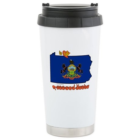 ILY Pennsylvania Stainless Steel Travel Mug