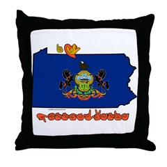 ILY Pennsylvania Throw Pillow