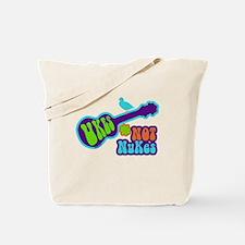 Ukes Not Nukes Tote Bag