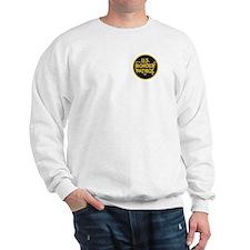 gold/black border patrol Sweatshirt