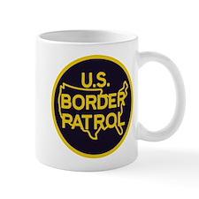 gold/black border patrol Mug