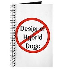 NO Designer Hybrid Dogs Journal