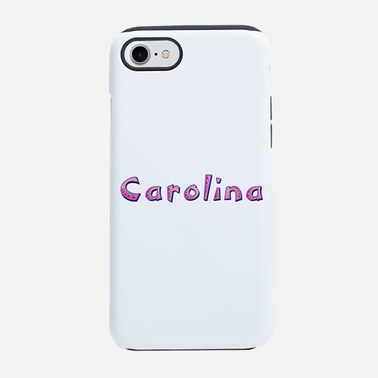 Carolina Pink Giraffe iPhone 7 Tough Case