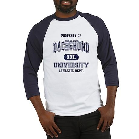 Dachshund University Baseball Jersey