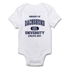 Dachshund University Infant Bodysuit