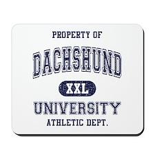 Dachshund University Mousepad