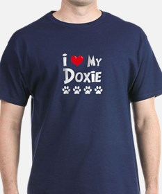 I Love My Doxie T-Shirt