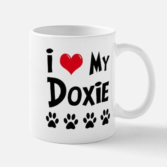 I Love My Doxie Mug