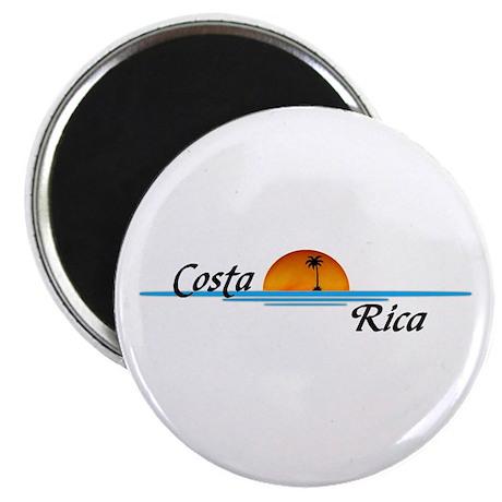 """Costa Rica 2.25"""" Magnet (100 pack)"""