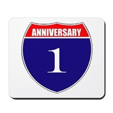 1st Anniversary! Mousepad