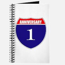 1st Anniversary! Journal