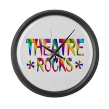 Theatre Large Wall Clock