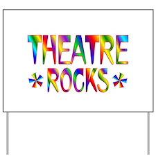 Theatre Yard Sign