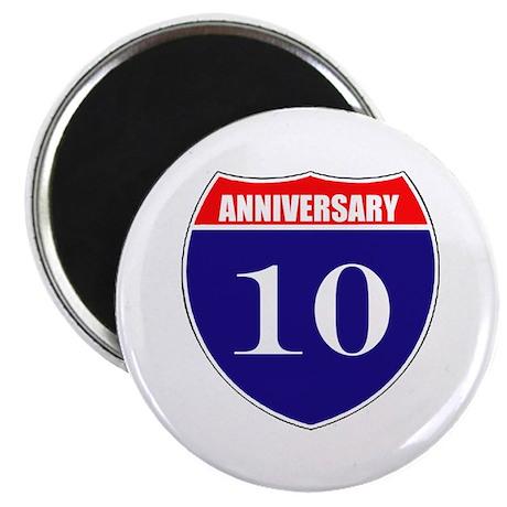 10th Anniversary! Magnet