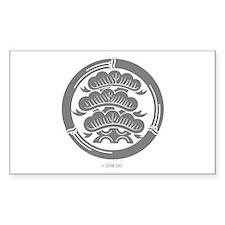 Oshiro Crest Rectangle Decal