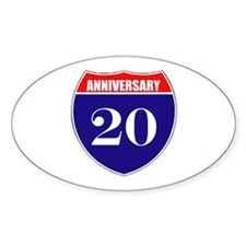 20th Anniversary! Decal