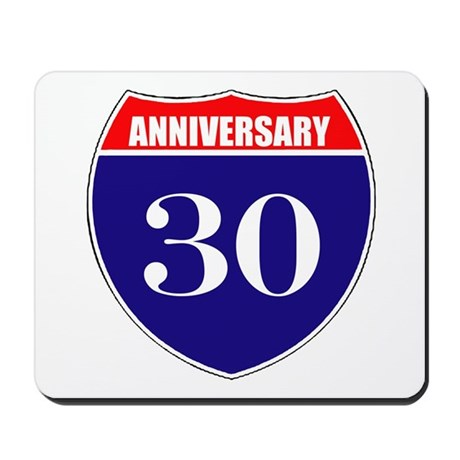 30th Anniversary! Mousepad