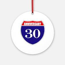 30th Anniversary! Ornament (Round)