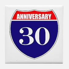 30th Anniversary! Tile Coaster