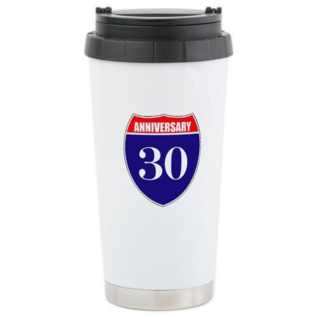 30th Anniversary! Stainless Steel Travel Mug