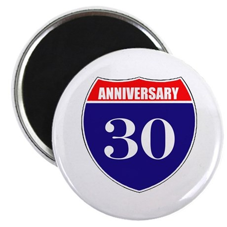 """30th Anniversary! 2.25"""" Magnet (100 pack)"""
