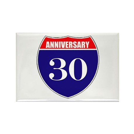 30th Anniversary! Rectangle Magnet