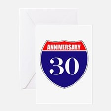 30th Anniversary! Greeting Card