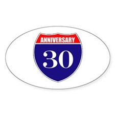 30th Anniversary! Decal