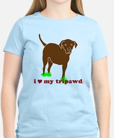 I Love My Tripawd T-Shirt