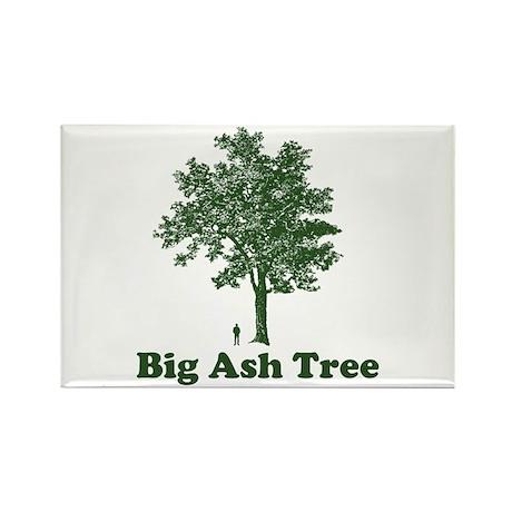 Big Ash Tree Rectangle Magnet
