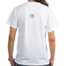 'Good Night' White T by 'Life Like'