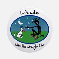 Color 'Life Like' Ornament (Round)
