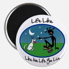 Color 'Life Like' Magnet