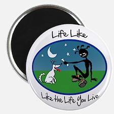 "Color 'Life Like' 2.25"" Magnet (10 pack)"