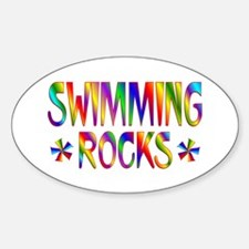 Swimming Decal