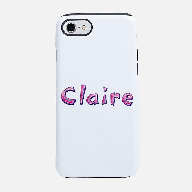 Claire Pink Giraffe iPhone 7 Tough Case
