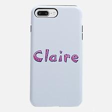 Claire Pink Giraffe iPhone 7 Plus Tough Case