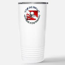 Neoprene In The Morning Travel Mug